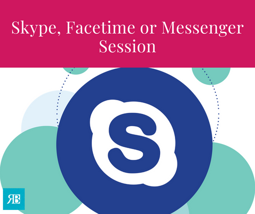 Skype, Phone, FaceTime or Messenger Consultation