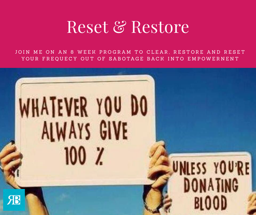 Restore and Reset  - 6 Weeks Payment Plan