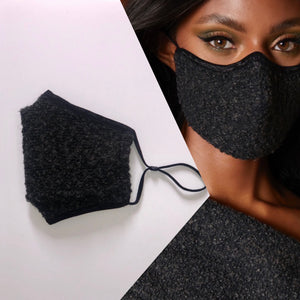 Multi Tweed Mask (Adjustable Ear Loops)