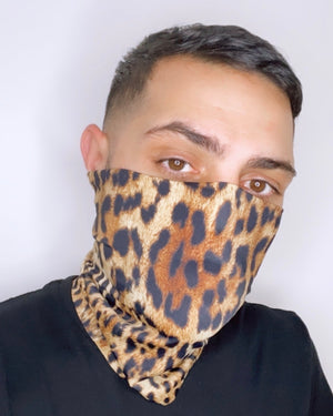 Cheetah Face Sleeve (Reversible)