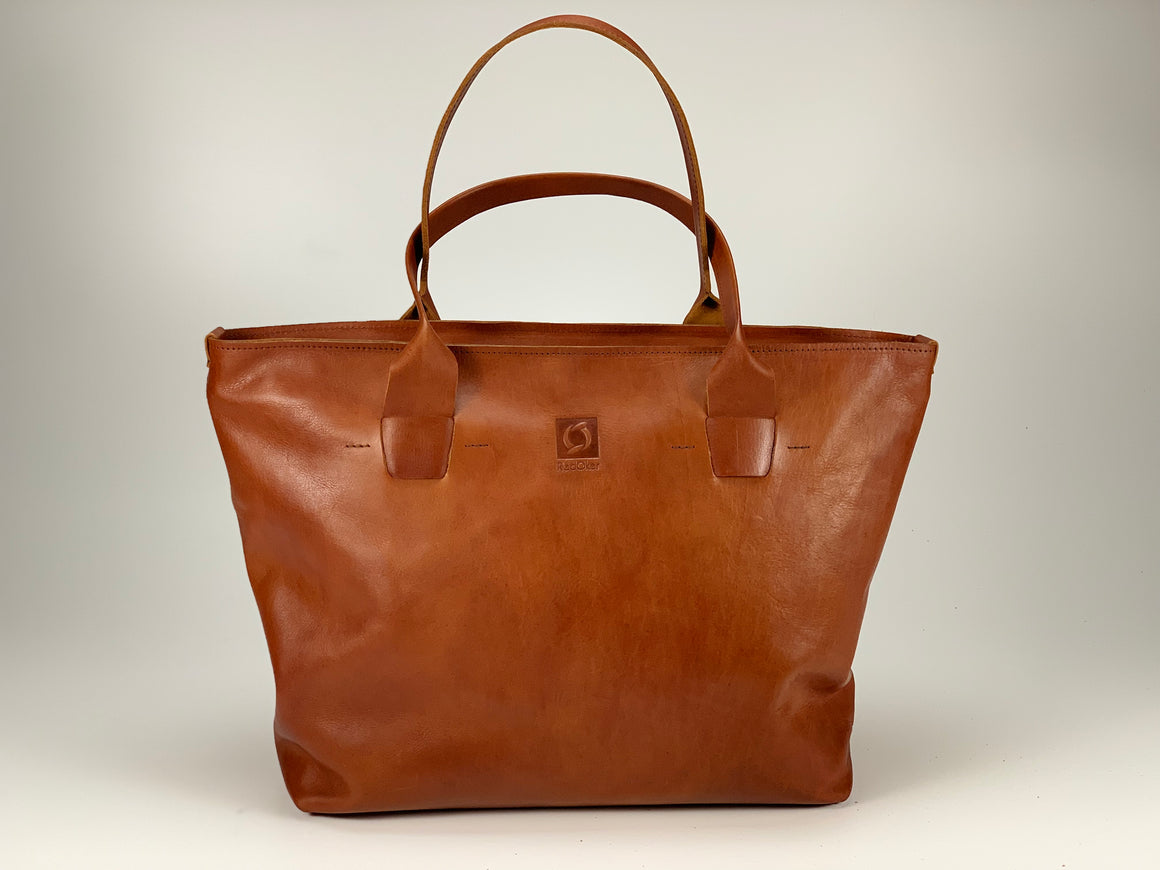 Cohort Tote - Full Leather