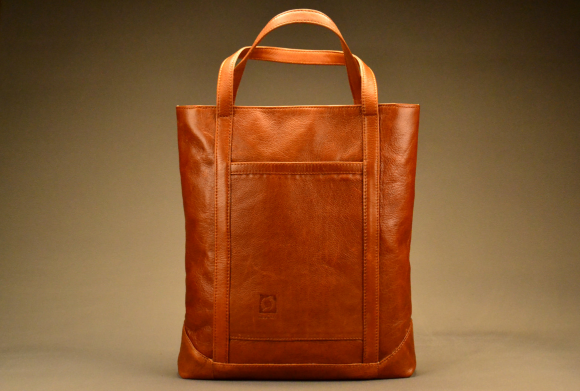 Dynamo Tote - Full Leather