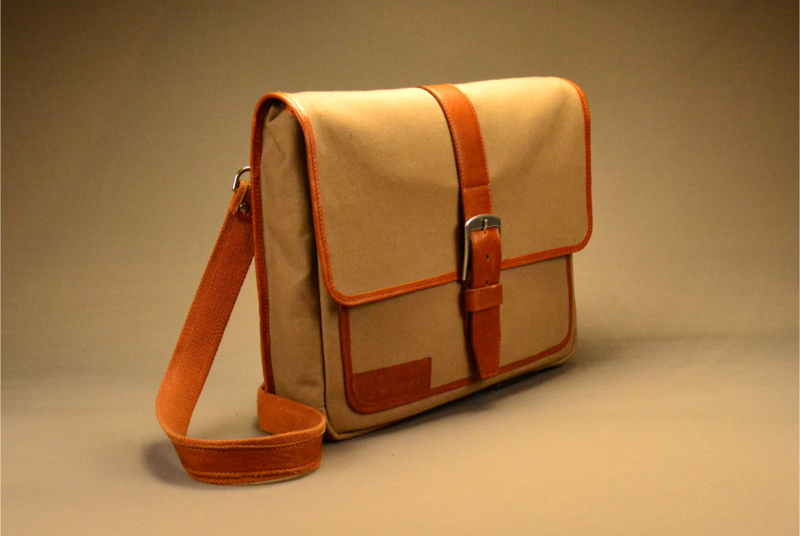 Gogetter Messenger - Canvas & Leather