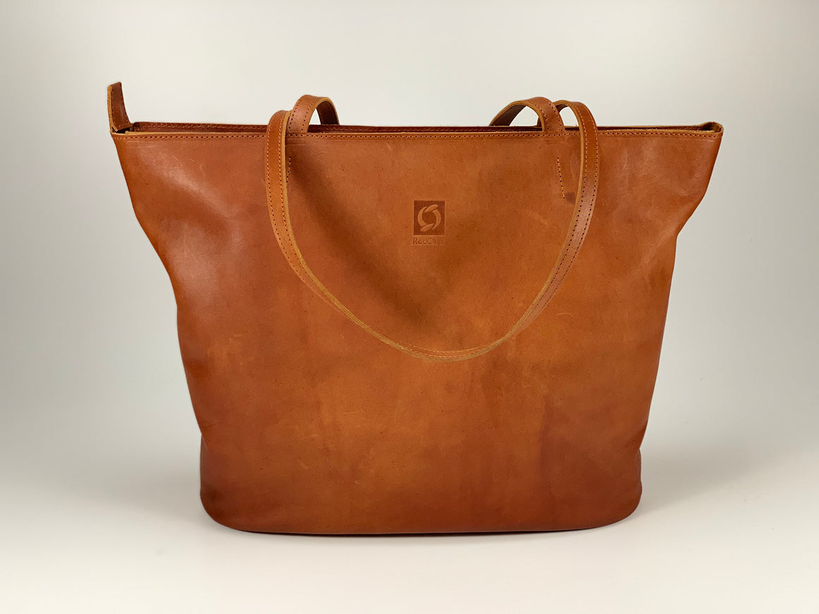 Carrington Tote - Full Leather