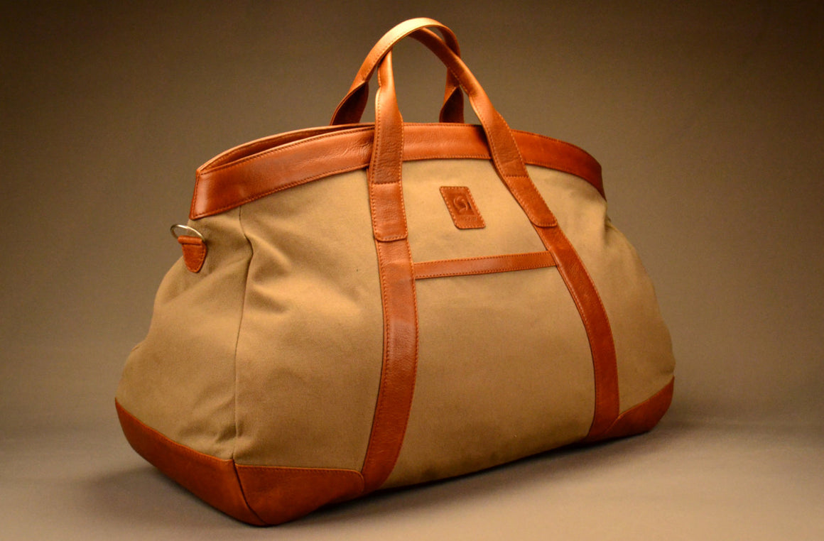 Tripper Travel Bag - Canvas & Leather