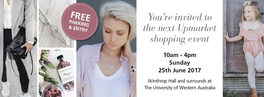 Next Event - Perth Upmarket, UWA Crawley 25 June 2017
