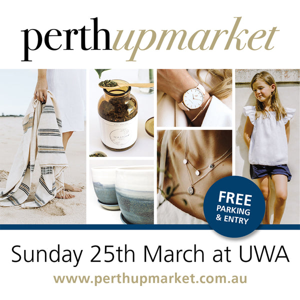 See you on Perth Upmarket 25 March!