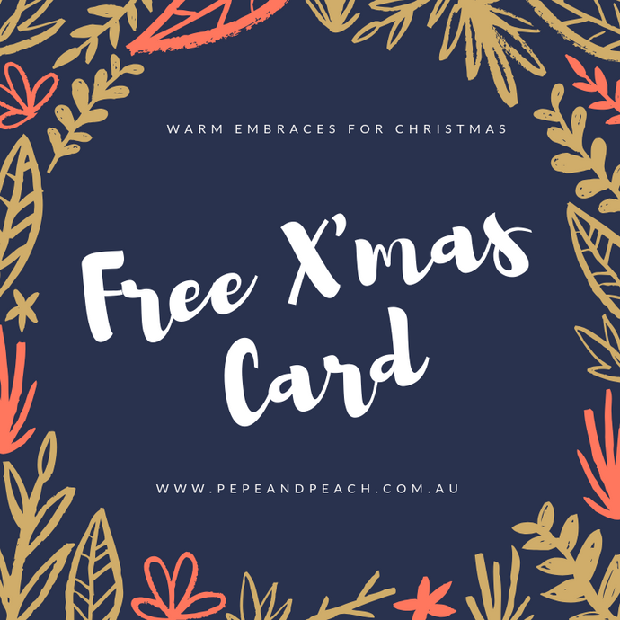 Merry X'mas to you | FREE X'Mas Card on your purchase