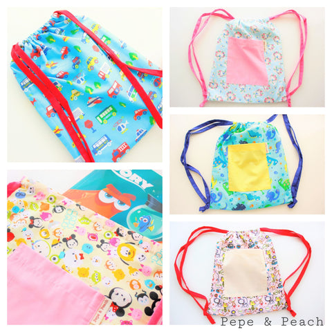 drawstring backpack for toddler