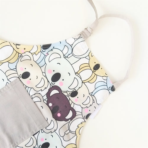 Kids Apron - Koala, Blue or Pink
