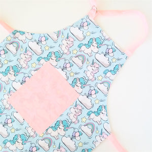Kids Apron - Pink Unicorn