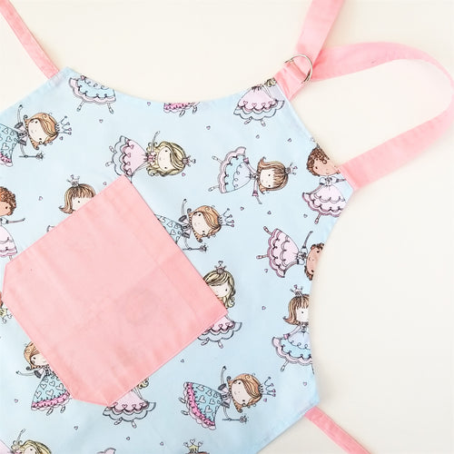 Kids Apron - Princess, Pink or Blue