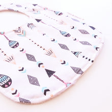 Load image into Gallery viewer, Baby Bib - Aztec Arrows