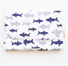 Load image into Gallery viewer, Baby Change Mat - Shark