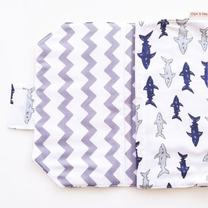 Baby Change Mat - Shark