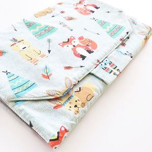 Baby Change Mat - Woodland Beige or Mint