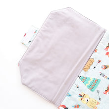 Load image into Gallery viewer, Baby Change Mat - Woodland Beige or Mint