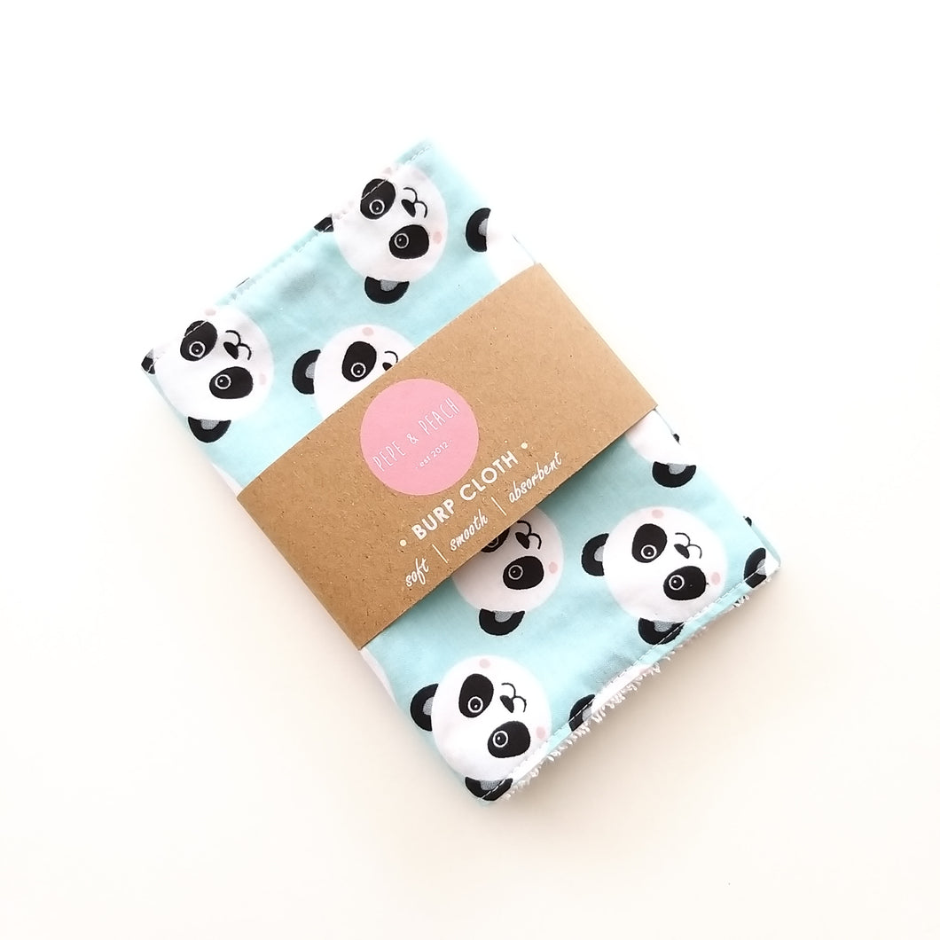 Burp Cloth - Panda