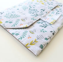 Load image into Gallery viewer, Baby Change Mat - Sage Flowers