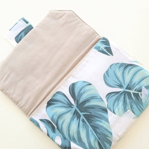 Baby Change Mat - Monstera