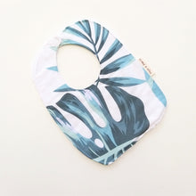 Load image into Gallery viewer, Baby Bib - Monstera