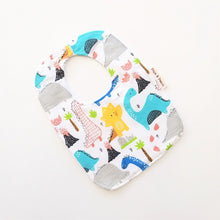 Load image into Gallery viewer, Baby Bib - Dinosaur