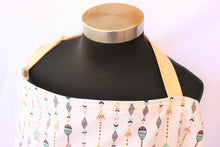 Load image into Gallery viewer, Breastfeeding Apron - Mint Black Arrows