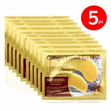 Gold Crystal collagen Eye Mask Patches - 1 + 1 offer (10pcs in total)