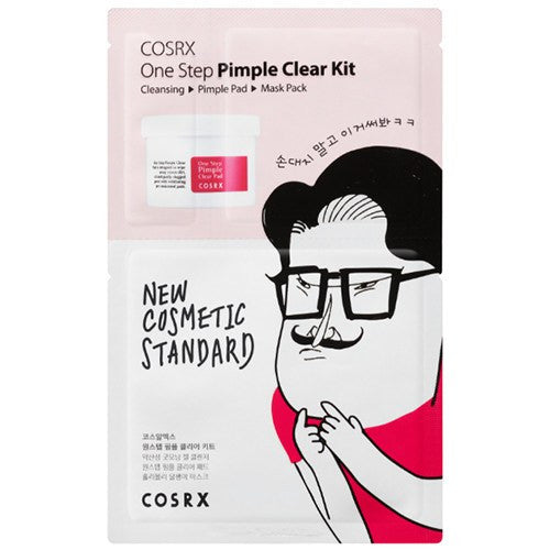 COSRX ONE STEP PIMPLE CLEAR KIT, Sheet mask - AGASHII