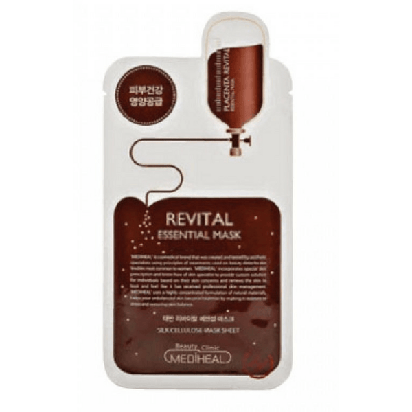 MEDIHEAL REVITAL ESSENTIAL MASK, Sheet mask - AGASHII
