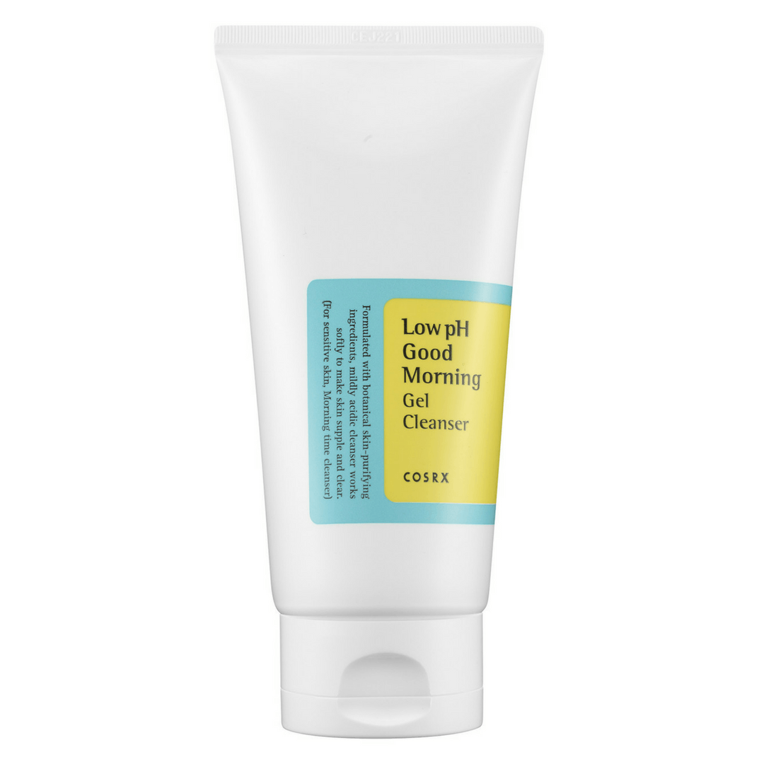COSRX LOW PH GOOD MORNING GEL CLEANSER, cleanser - AGASHII