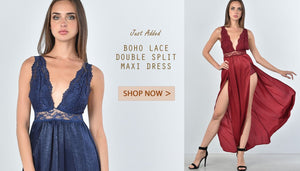 Boho lace dresses - Reid's Boutique