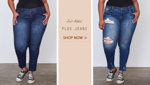 Plus jeans - Reid's Boutique