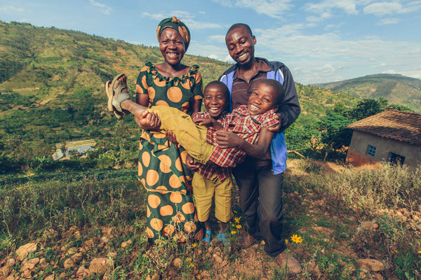 kula project rwandan family