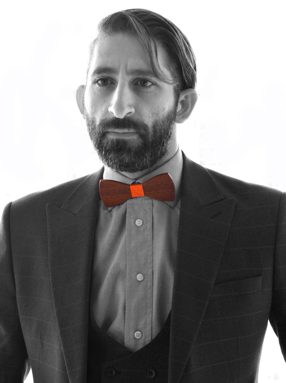 Wooden Bow Ties - Urban Style Collection