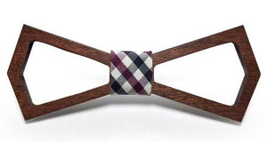 Wooden Frame Bow Tie - V Lovers Collection