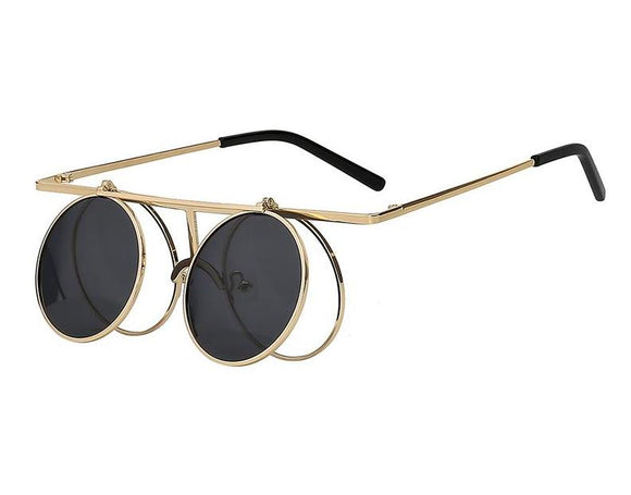 Burner Flip Steampunk Sunglasses