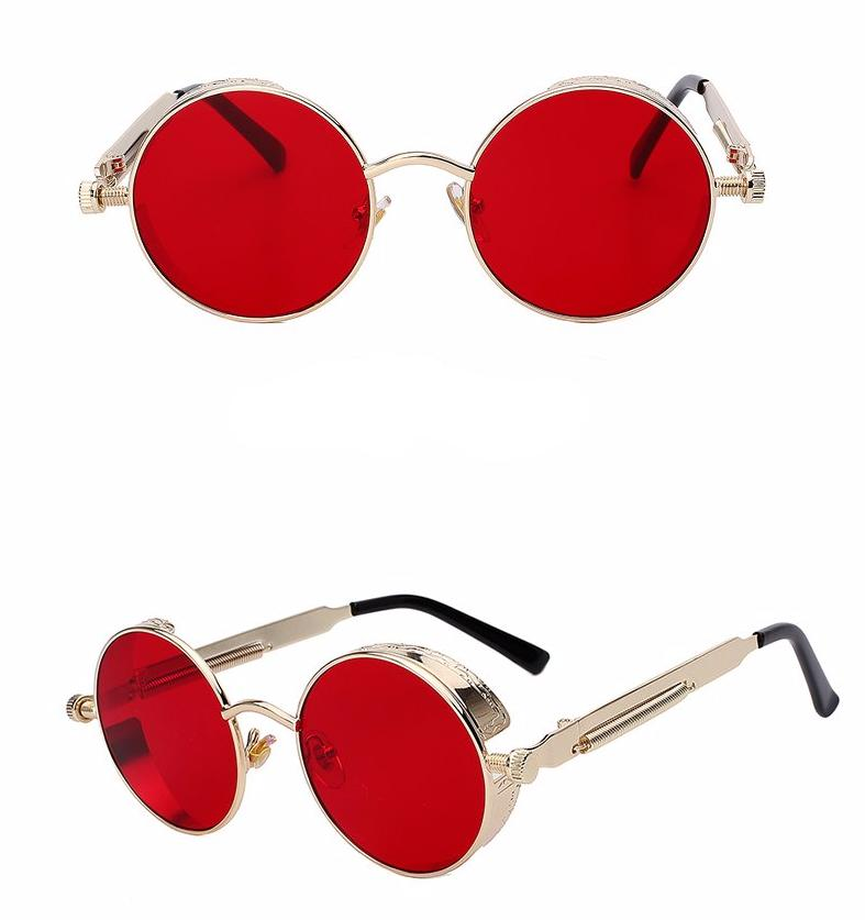 Steampunk Sunglasses with Round Lenses