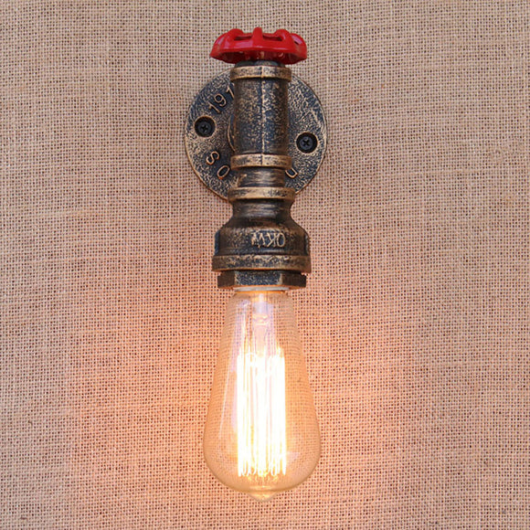 Steampunk Retro Water Pipe Lamp