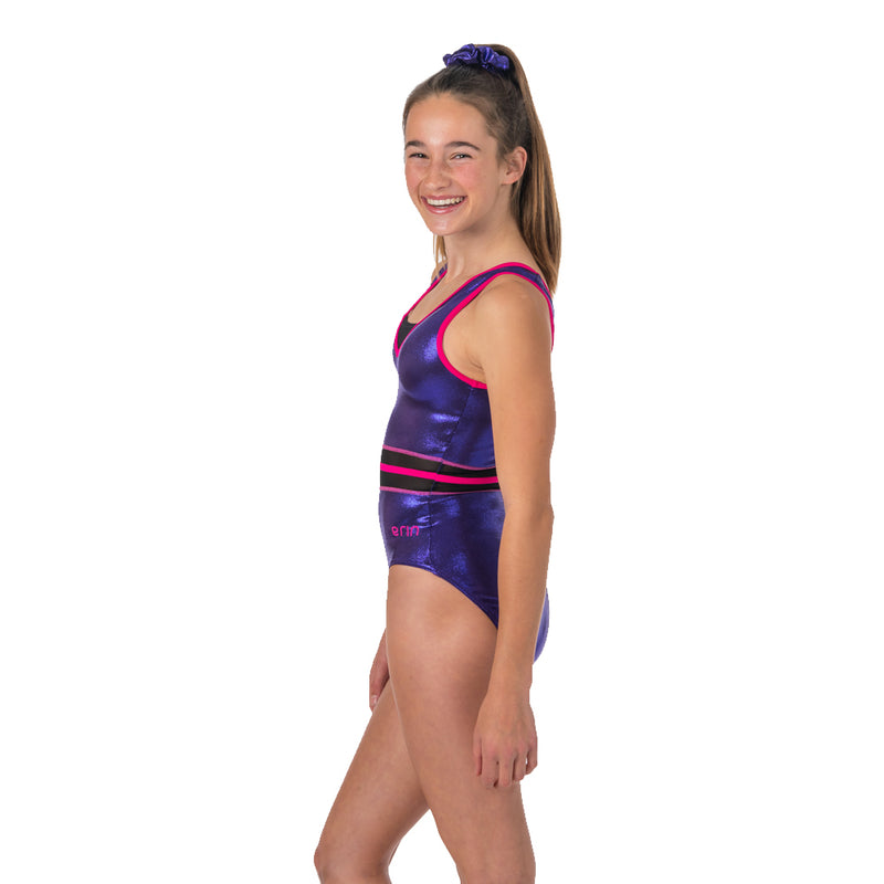 Aerie Sleeveless Leotard - Eggplant Purple