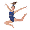 Avant-V Sleeveless Leotard - Navy
