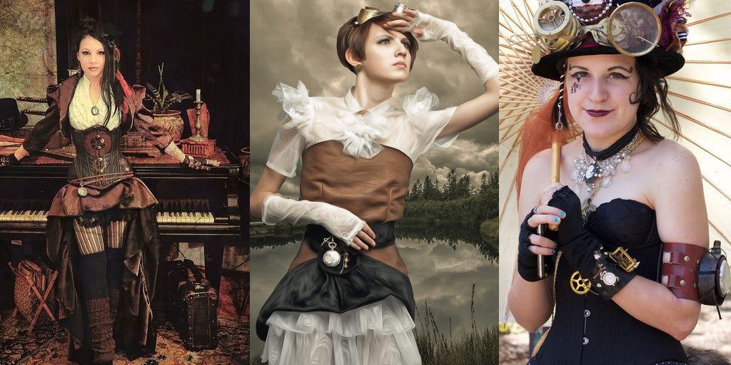 8 Amazing Ste&unk Looks For Women. u201c  sc 1 st  Ste&unk Heaven & 8 Amazing Steampunk Looks For Women - Steampunk Heaven