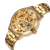 Elegant Gold Steampunk Wrist Watch