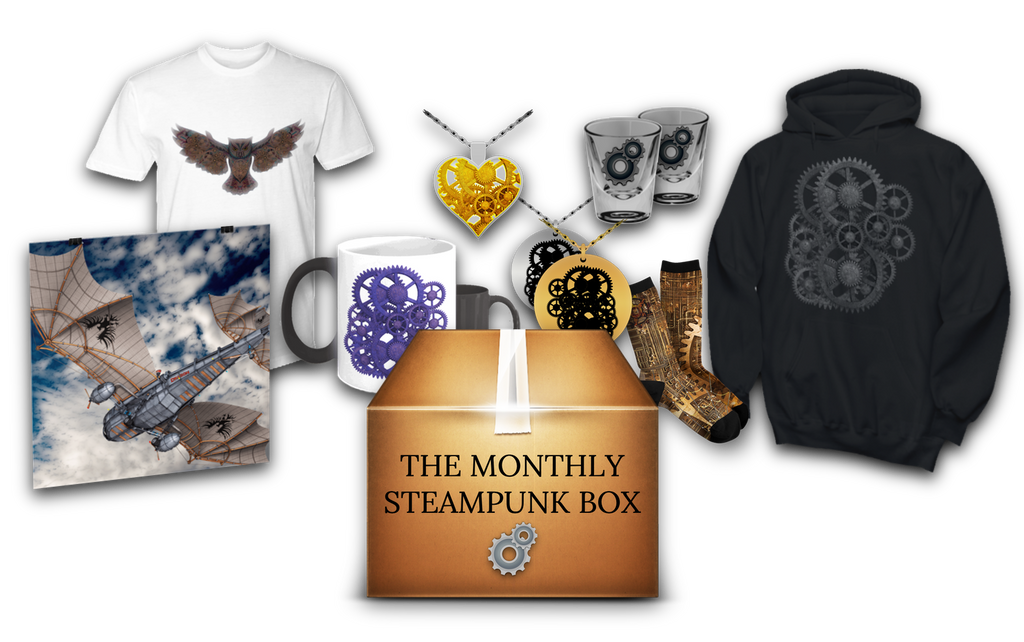 this monthly steampunk surprise box is changing steampunk forever