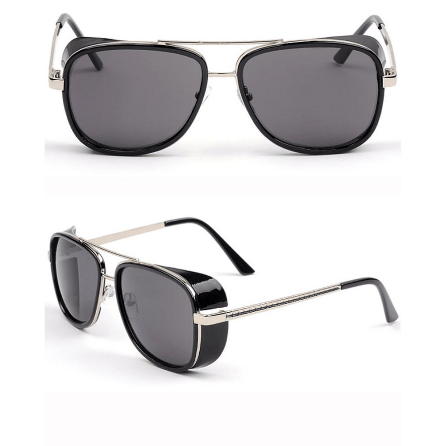 """STARK"" - Engineer Aviator Sunglasses"