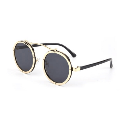 Steampunk Bolt Frame Unisex Sunglasses