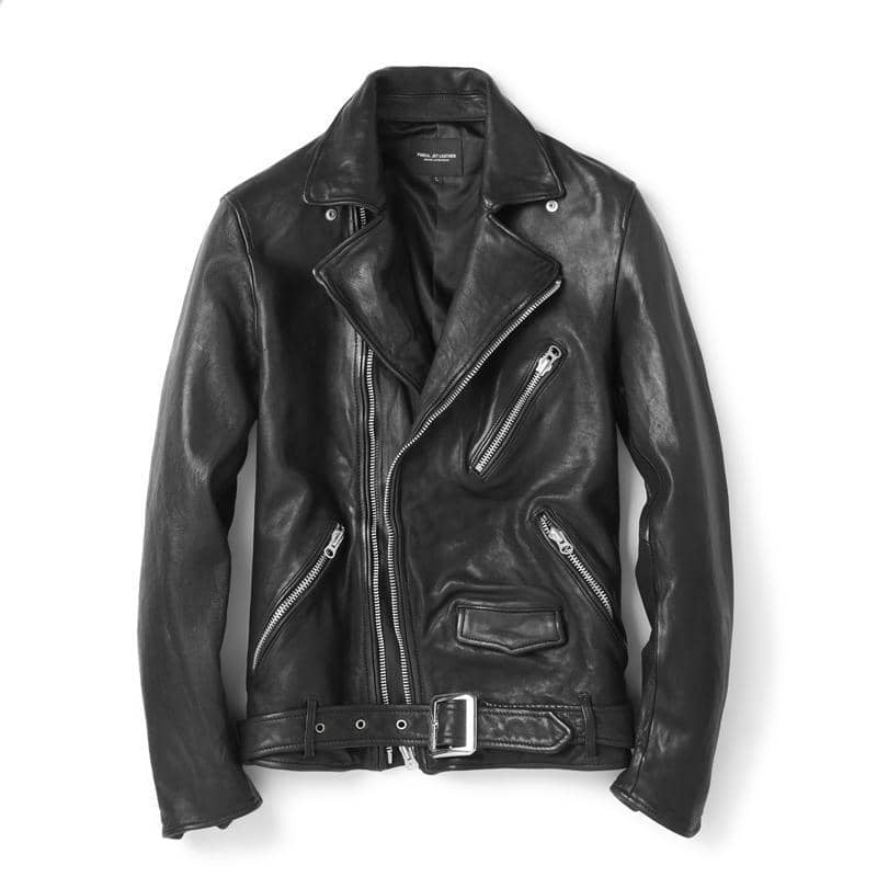 """BOURBON"" - Genuine Leather Biker Jacket - SPECIAL EDITION"