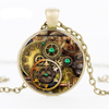 steampunk necklace pendant jewellery