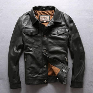 """DALSTON"" - Genuine Leather AVIREXFLY Jacket"