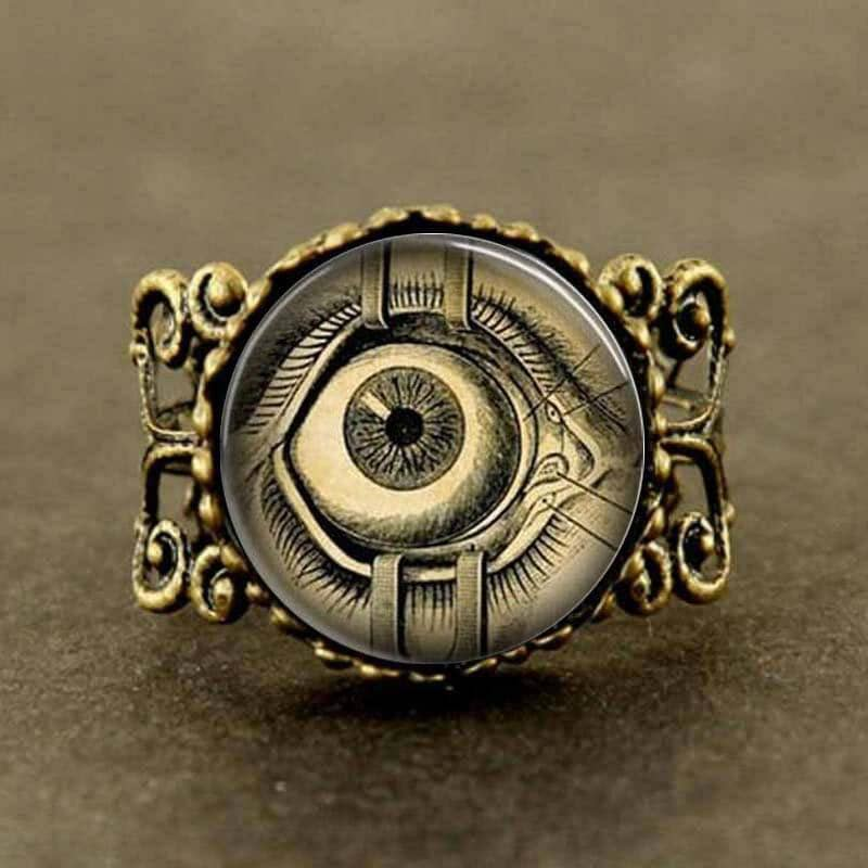 Steampunk Evil Eye Ring